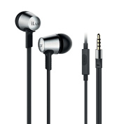 iLuv City Lights In-Earphone with Mic Control Silver