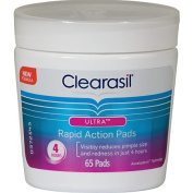 Clearasil Ultra Wipes 65 Pack