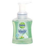 Dettol Touch of Foam Hand Wash Pump Lime & Mint 250ml