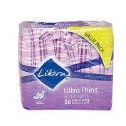 Libra Ultra Thin Pads Goodnight Wing 16s