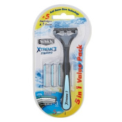 Schick Xtreme3 Disposable Razor 5+1 Sub Zero