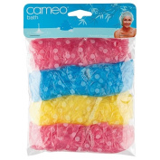 Cameo Bath Disposable Shower Caps 4 Pack
