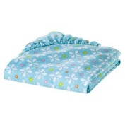 Sumersault Multi Birdie Patches Fitted Crib Sheet