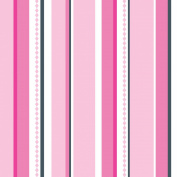 Caden Lane Luxe Collection Pinstripe Single Sheet, Girl