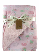 Super Soft 2-sided Fleece Baby Blanket