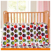 "2 Ply Print Flannel Toddler Baby Boys and Girls Blanket Super Soft and Warm 55"" X 42"" Inch ( 140 Cm X 105 Cm)"