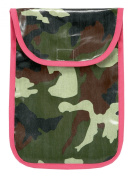 AM PM Kids! Nappy Clutch, Pink Camo