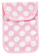 AM PM Kids! Nappy Clutch, Pink Dots