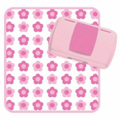 B Box Nappy Wallet Flower Power Pink