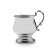 Empire Pedestal Pewter Baby Cup