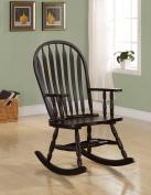 Cappuccino Arrow Windsor Back Rocking Chair