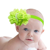 FEITONG(TM) Lovely Rhinestone Unusual Angel Girls Baby Pearl Flowers Hairband Headbands