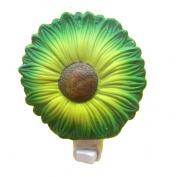 A.Shine Sunflower Ceramic NightLights, Porcelian Night Light for Christmas Day