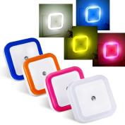E Support™ Square LED Mini Plug Nightlight Sensor lights Automatic light control Sleeping Baby's Light