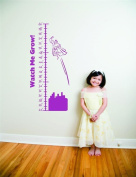 Top Selling Decals - Prices Reduced : Superman Growth Chart Picture Art - Kids Bed Room - Peel & Stick Sticker - Vi...
