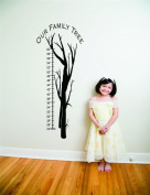 Top Selling Decals - Prices Reduced : Our Family Tree Growth Chart Picture Art - Kids Bed Room - Peel & Stick Stick...
