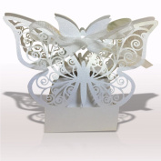 Miabelllasophia's Premium Quality White Butterfly Gift Wrap, 10 Small Boxes Set (2.1x 1.18cm x 4.1cm ) for an Elegant Presentation of Miabelllasophia...