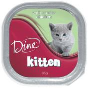Dine Kitten With Tender Chicken 85g