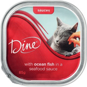 Dine With Ocean Fish In A Seafood Sauce 85g