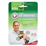 Vitapet All Wormer Tablets Cats