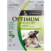 Optimum Adult Dog Small Breed Chicken Rice Vege 3kg