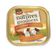 VIP Natures Goodness Dog Chicken/Duck and Garden Vegetables 100g