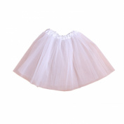 Arrowhunt Baby Girls Ballet Tutu Layered Organza Lace Mini Tutu Skirt
