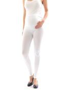 Maternity leggings Thermo Fleece inner Long trousers pants Cotton leggings stood around