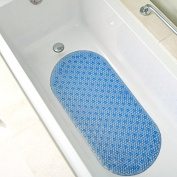 Bath Mat- Extra Long (90cm x 38cm ) Non-slip Cushioned