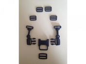 Baby 5 Point Harness Lock Clip Hook Stroller Pram Buggy Safe Belt Strap Buckle