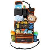 Backseat Car Organiser by HappyChappy | Eco-Friendly Baby & Child Travel Storage Solution