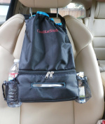 Car Litter Bag. Car Trash Bag. Car Seat Organiser. Includes Tissue Holder And Side Pockets. Hang It In Your Car Or In Any Room For Easy And Fast Access To Tissue Papers. Great On The Stroller, Behind Booster Chair, On The Coat Rack In The Foyer, In The ..