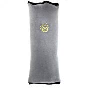 ChiTronic Cotton Velvet Car Safety Seat Belt Shoulder Pad Pillow for Children,Grey Colour