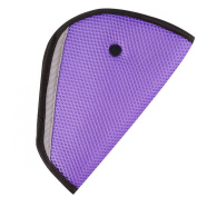 Pinksee Baby Kids Car Safety Cover Strap Adjuster Pad Harness Children Seat Belt Clip Pack of 2