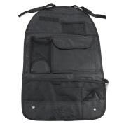 Car Van Truck Back Rear Seat Organiser Holder Multi-Pocket Travel Storage Bag Hanger Black