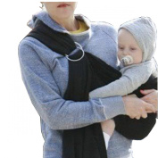 Lightly Adjustable Baby Ring Sling Carrier Wrap,Newborn to Toddler