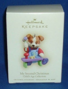 Hallmark Ornament My Second Christmas Child's Age Collection