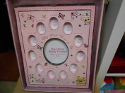 Baby Essentials First Year Baby Frame Pink Bear