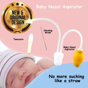 Baby Nasal Aspirator - The Baby Nose Suction Snot Sucker for a Clean and Comfy Nose