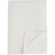 Soft Luxe Bamboo & Organic Cotton Double Layer Thermal Receiving Blanket