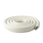 Ivenf Multi-functional U-Shape Edge & Corner Guards Cushion 2m / 6.56ft, Extra Dense Extra Protection for Baby, White