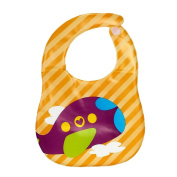 FEITONG New Infant Toddlers Kids Child Translucent Plastic Soft Baby Waterproof Bibs EVA