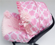 Infant Carseat Canopy Cover 3 Pc Whole Caboodle Baby Car Seat Cover Kit Cotton C031200