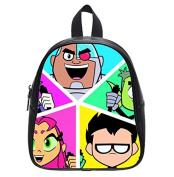 High-Grade Teen Titans Go Custom Kids School Bag Backpack (Small) Amazing