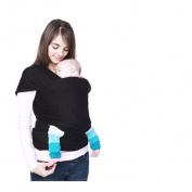 4-in-1 Cuddlebug Baby Wrap Carrier | Soft Baby Carrier | Baby Sling Carrier | Postpartum Belt | Nursing Cover | Best Baby Shower Gift