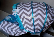 Infant Carseat Canopy Cover 3 Pc Whole Caboodle Baby Car Seat Cover Kit Cotton C031300