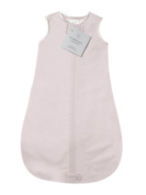SwaddleDesigns zzZipMe Sack with 2-Way Zipper, Cotton Flannel Wearable Blanket, Pastel Polka Dots - Pastel Pink 12-18 months