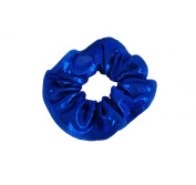 Obersee Kids Hair Tie Scrunchie, Royal Blue, One Size