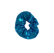 Obersee Kids Hair Tie Scrunchie, Turquoise, One Size
