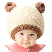 Cute Lovely New Kids Toddlers Baby Boys Girls Infant Winter Earflap Knitted Warm Cap Hat